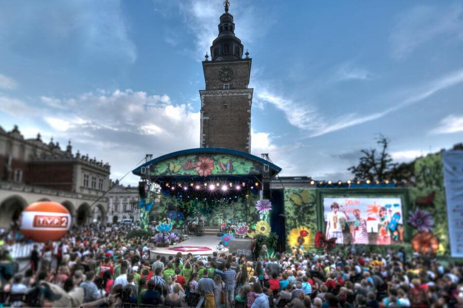 Festiwal Zaczarowanej Piosenki w Krakowie