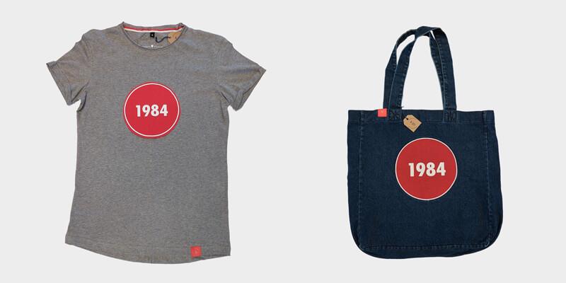 """Mamy dla was koszulki i torby """"1984""""!"""