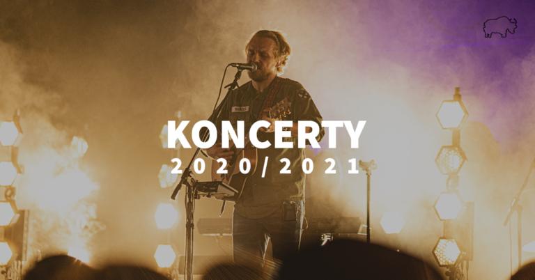 Komunikat: Nowe daty koncertów (przeniesionie z 2020)